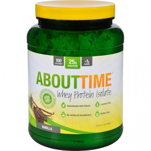 About Time Whey Protein Isolate Vanilla 2 lb