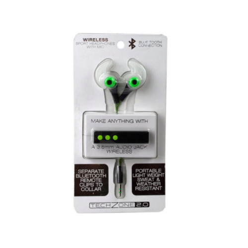 Tech Zone Bluetooth Sport Earbuds