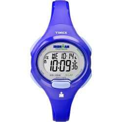 Timex IRONMAN� Traditional 10-Lap Mid-Size Watch - Blue