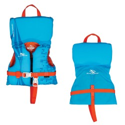 Stearns Infant Antimicrobial Life Jacket - Up to 30lbs - Blue