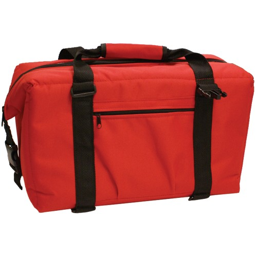 Norchill 24 Can Soft Sided Hot/Cold Cooler Bag - Red