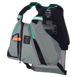 Onyx MoveVent Dynamic Paddle Sports Life Vest - XS/SM - Aqua