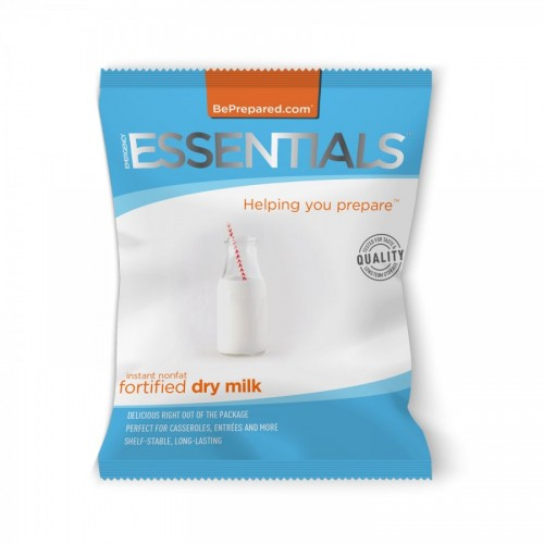 Emergency Essentials 10 Serving Instant Fortified Milk Pouch