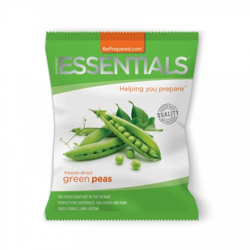 Emergency Essentials Freeze-Dried 14 Serving Green Peas Pouch