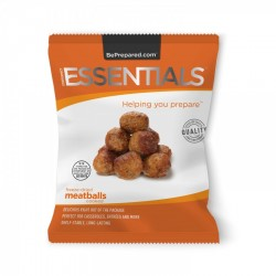 Emergency Essentials Freeze-Dried 4 Serving Italian Style Meatballs Pouch