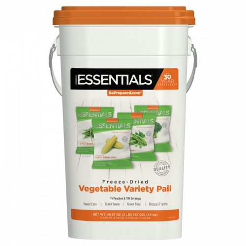 Emergency Essentials Vegetable Variety Pack