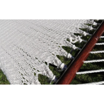 Deluxe Polyester Rope Hammock with 3-Beam Stand