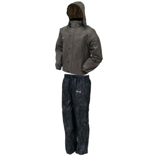 Frogg Toggs All Sports Rain Suit Stone/Black - Small