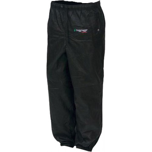 Frogg Toggs Pro Action Rain Pants Black - X-Large