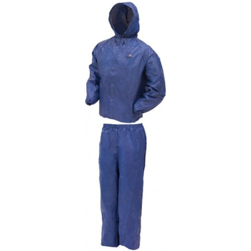 Frogg Toggs Ultra Lite Rain Suit Blue - Large