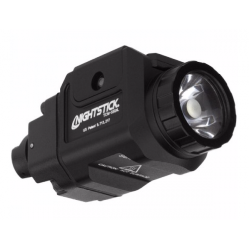 Nightstick Compact Weapon-Mounted Light 550 Lumens with Strobe- Black