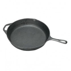 13 in. Cast Iron Frypan