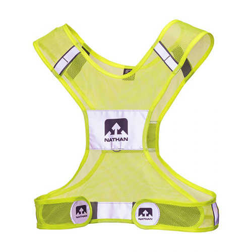 Nathan Streak Vest Small to Medium Hi-Viz Yellow