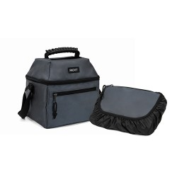 PackIt 9 Can Skylight Cooler, Charcoal