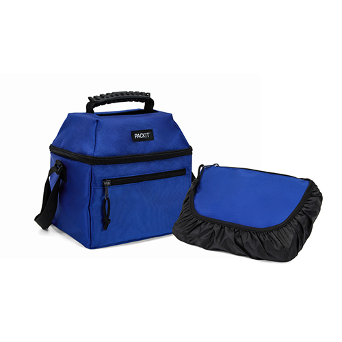 PackIt 9 Can Skylight Cooler, Cobalt Blue