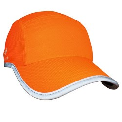 Headsweats Race Hat, High Viz Neon Orange Reflective