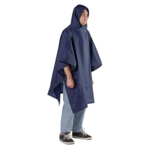 Outdoor Products Reg. Back Packer Poncho 56 x 94, Navy