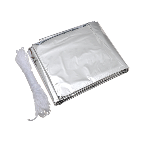 AceCamp Reflective Tube Tent, Silver