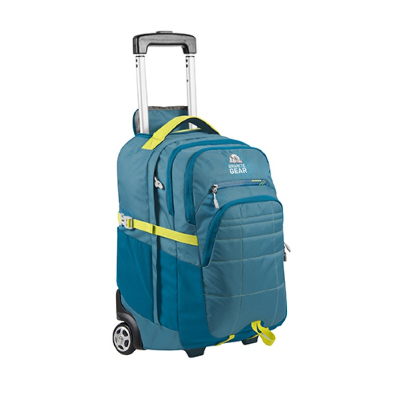 Granite Gear Trailster Wheeled Backpack 39 5l Blue Lime