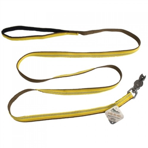 Coastal Pet Products K9 Explorer Reflective Leash with Scissor Snap Golden Rod Yellow