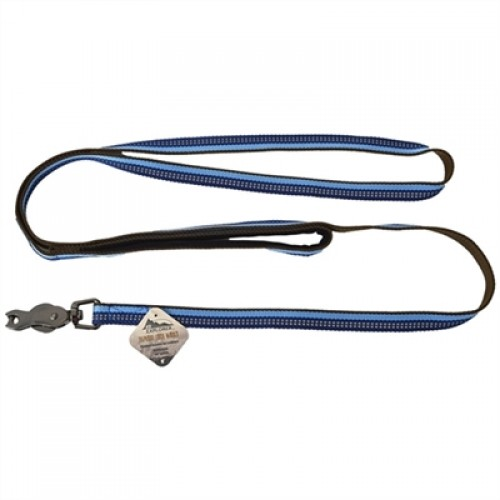 Coastal Pet Products K9 Explorer Reflective Leash with Scissor Snap Saphire Blu