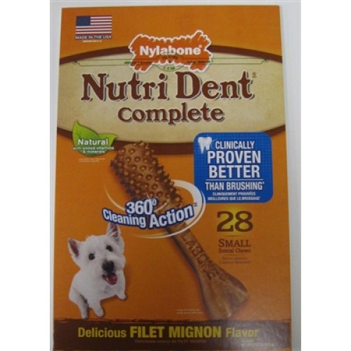 Nutrident Complete Adult Filet Mignon Small 28ct