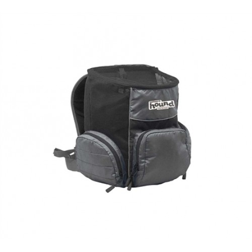 Outward Hound PoochPouch Backpack Gray